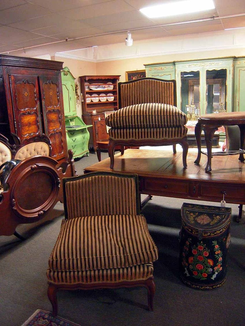 High Quality Belle Époque Upholstered French Salon Chairs | Olde Mobile Antiques Gallery  U2013 Mobile, AL
