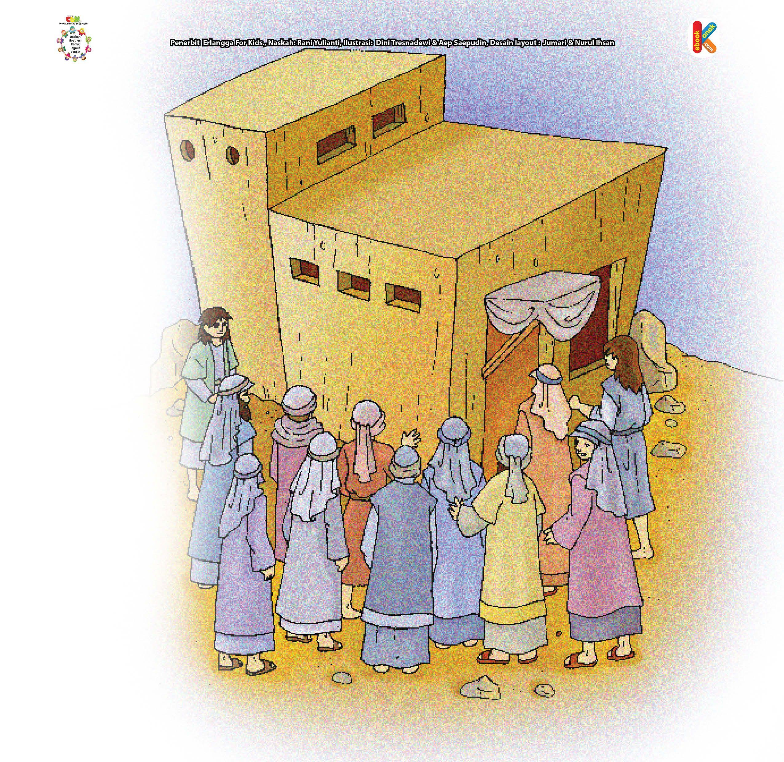 Nabi Luth dan 2 Tamu Misterius Anak