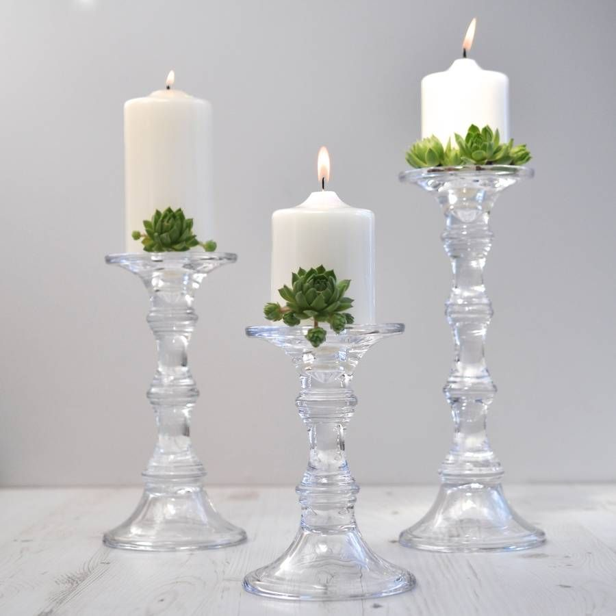 Home home decoration candles amp candle holders scented candles - Glass Candlesticks