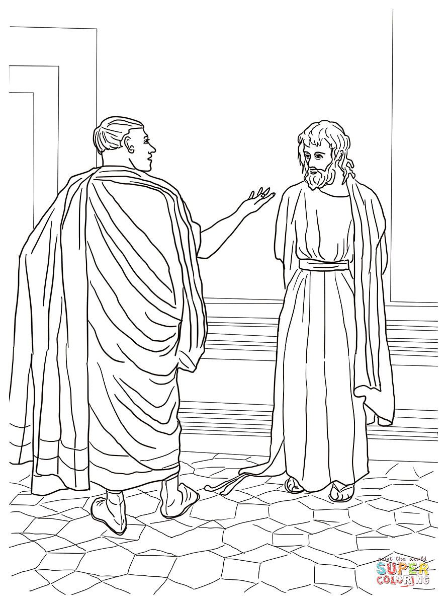 Free Christian Coloring Pages For Mark S Gospel Warren Camp Design Christian Coloring Coloring Pages Winter Coloring Pages Inspirational [ 1200 x 889 Pixel ]