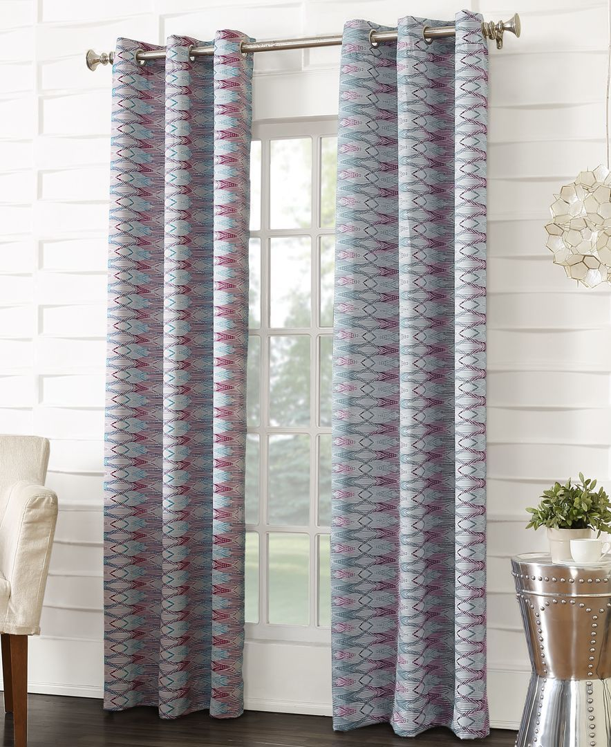 Sun Zero Dakota Room Darkening 40 X 63 Curtain Panel