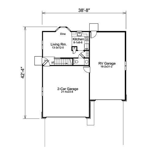 The Ideas Of Using Garage Apartments Plans: Garage Plans With Living Quarters Above