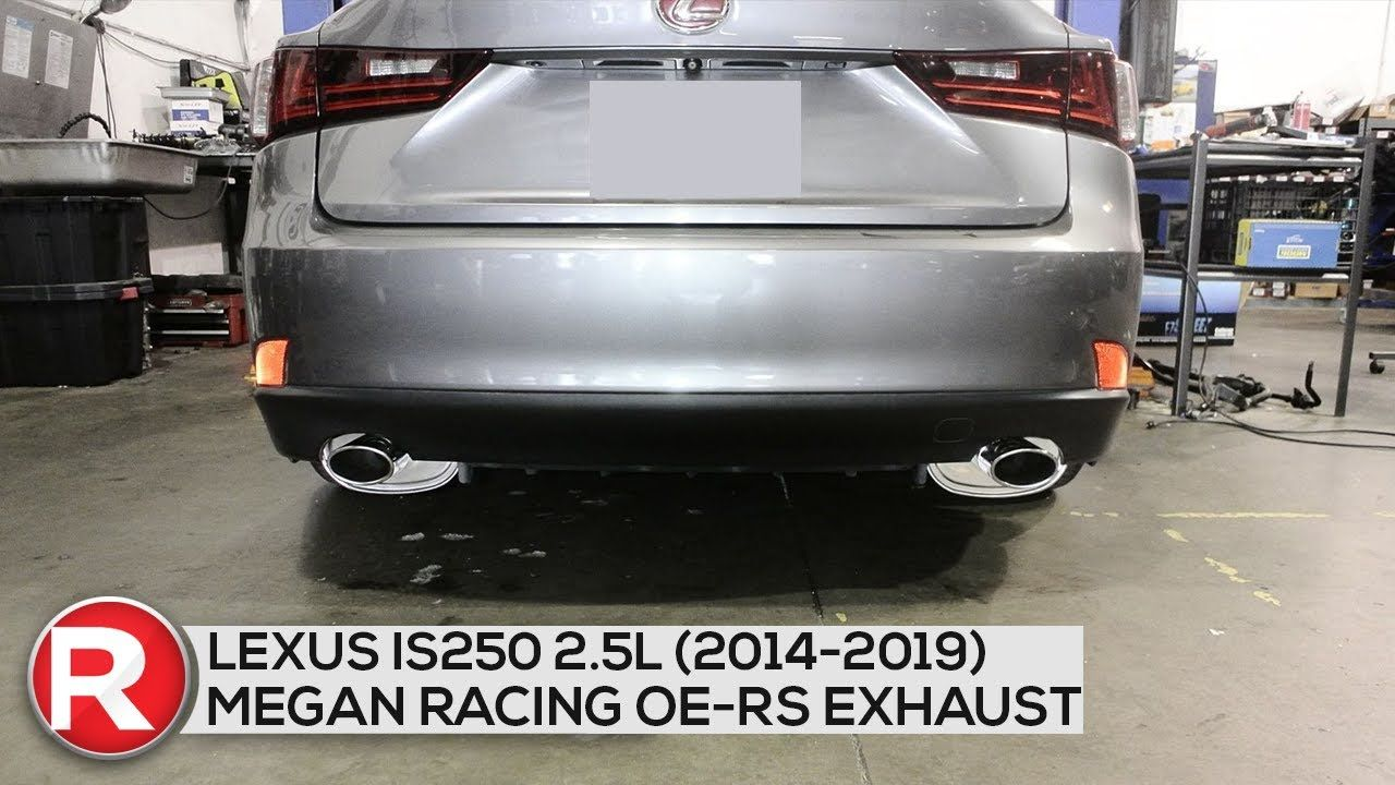 megan racing oe rs axleback exhaust