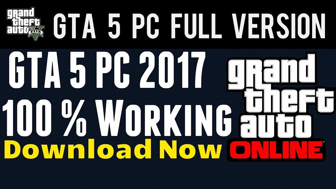 Gta 5 How To Download Free Gta 5 Online Pc 2017 Full Version