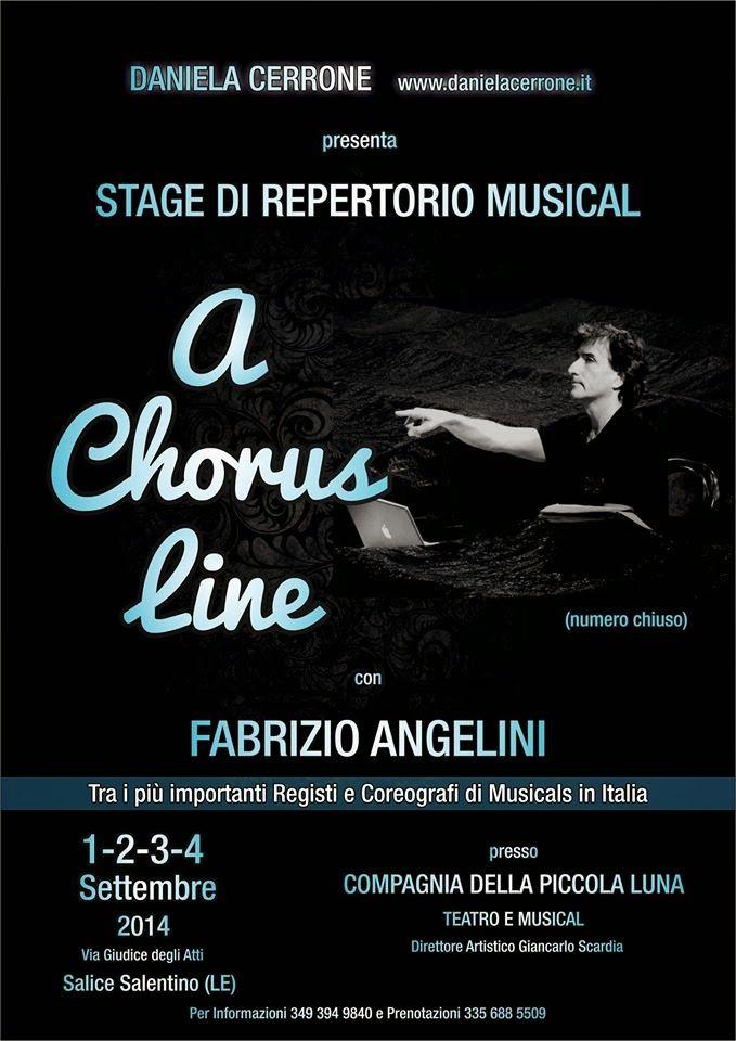 TG Musical e Teatro in Italia: Imperdibile Stage con Fabrizio Angelini