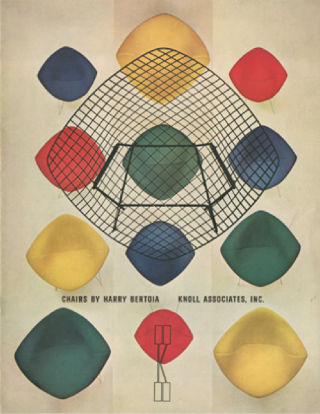 Graphic Design by Herbert Matter (1907-1984), ca. 1950, Bertoia Collection, Knoll.