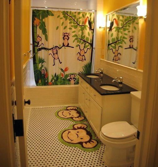 Kids Bathroom Decor Ideas High Tips Offer House Kid Bathroom Decor Bathroom Decor Monkey Bathroom