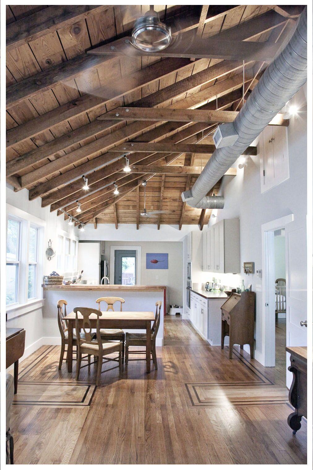 Kitchen Ceiling Ideas In 2020 20 Photos Galleries Cathedral Ceiling Living Room Vaulted Ceiling Living Room Kitchen Ceiling