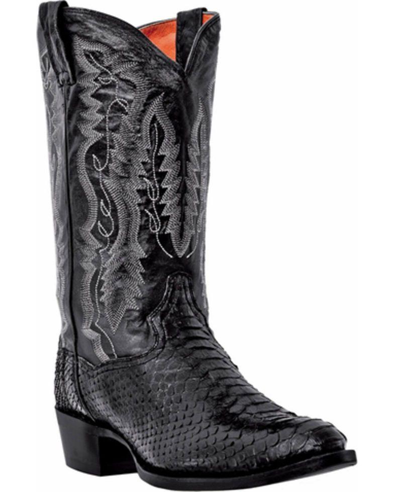 3a361980881 Dan Post Men's Omaha Python Cowboy Boots - Medium Toe | boots in ...