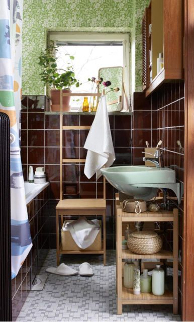 Ikea 2018 Decoración ecléctica Pinterest Rental bathroom and House