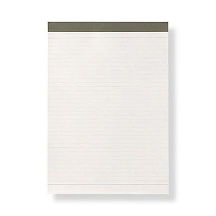 abfea30f7b Muji B5 White Lined Notepad with PP Cover