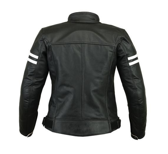 Women Style Premium Quuality Cowhide Leather Jacket Motorcycle Motorbike Biker Sports Fashion  CE Armoured Protected