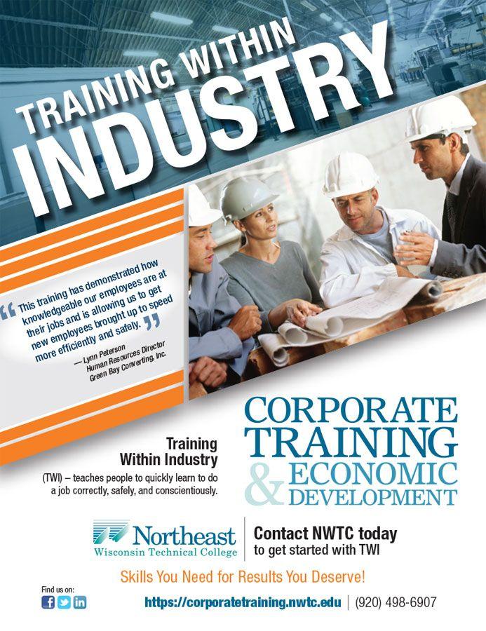 training advertisement samples