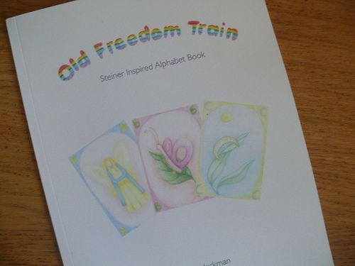 Old Freedom Train Alphabet Book