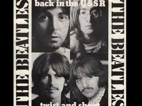 The Beatles - Back In The USSR - Lyrics | 1960's Sounds | The