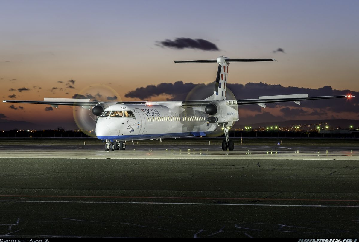 Croatia Airlines Bombardier Dhc 8 402 Q400 9a Cqa At Zagreb Pleso March 2015 Photo Alan Grubelic With Images Croatia Airlines Aircraft Pictures Croatia