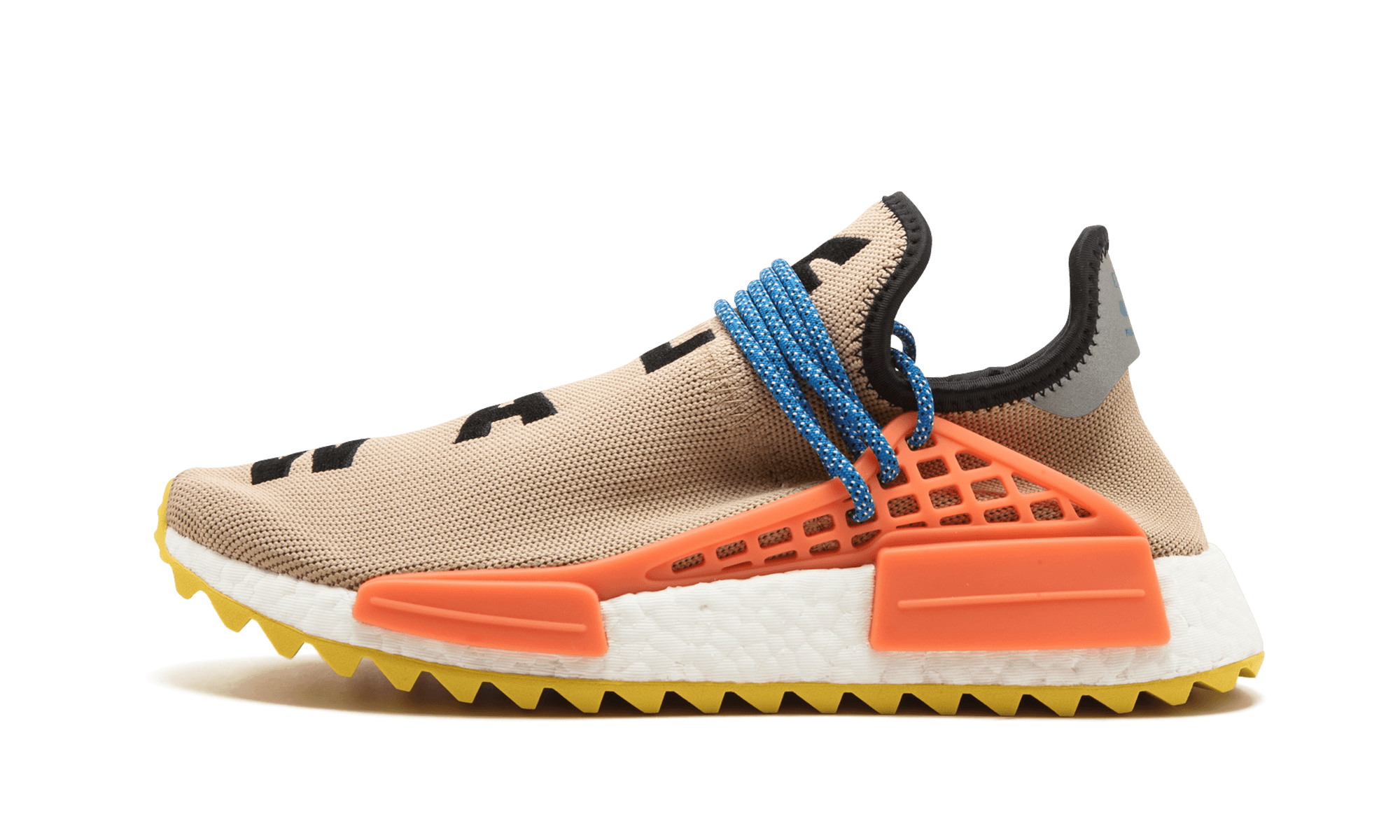 8bf54e48a Pharrell s famous adidas NMD Hu goes off road with this new Trail edition  that debuted in the fall of 2017. The NMD Human Race Trail differs from  Pharrell s ...