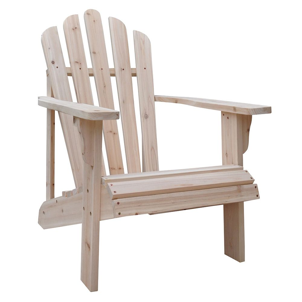 Shine Co 4611n Westport Adirondack Chair Natural Unfinished Cedar Patio Chairs Outdoor Chairs Decor