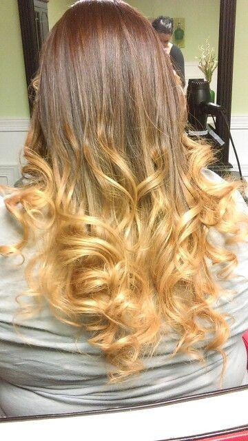 Omber hair