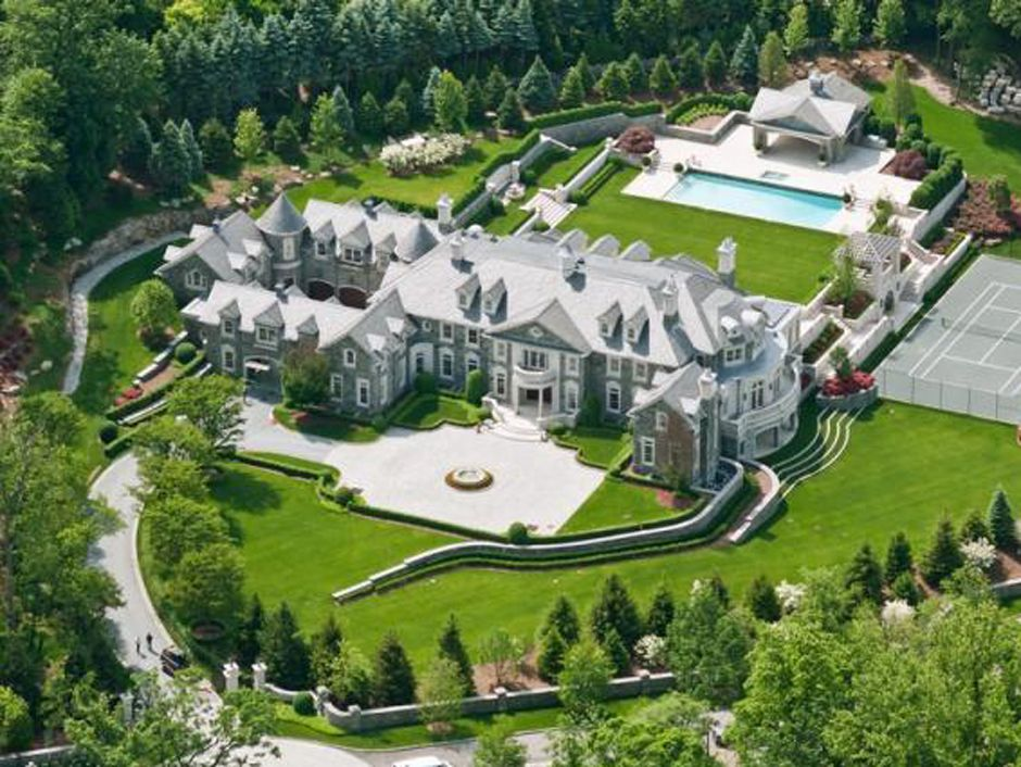 Alpine Stone Mansion Returns To Market Business Insider
