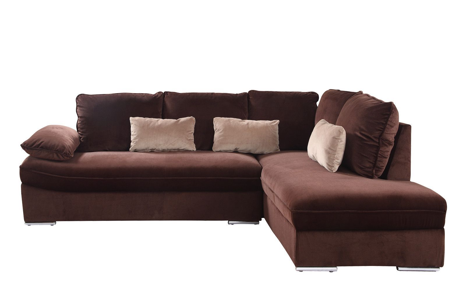 Sensational Granada Classic Brush Microfiber Sectional Products Theyellowbook Wood Chair Design Ideas Theyellowbookinfo