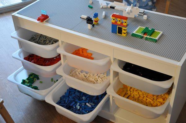 10 Idees Pour Detourner Les Trofast D Ikea Rangement Lego Meuble Rangement Jouet Meuble Rangement