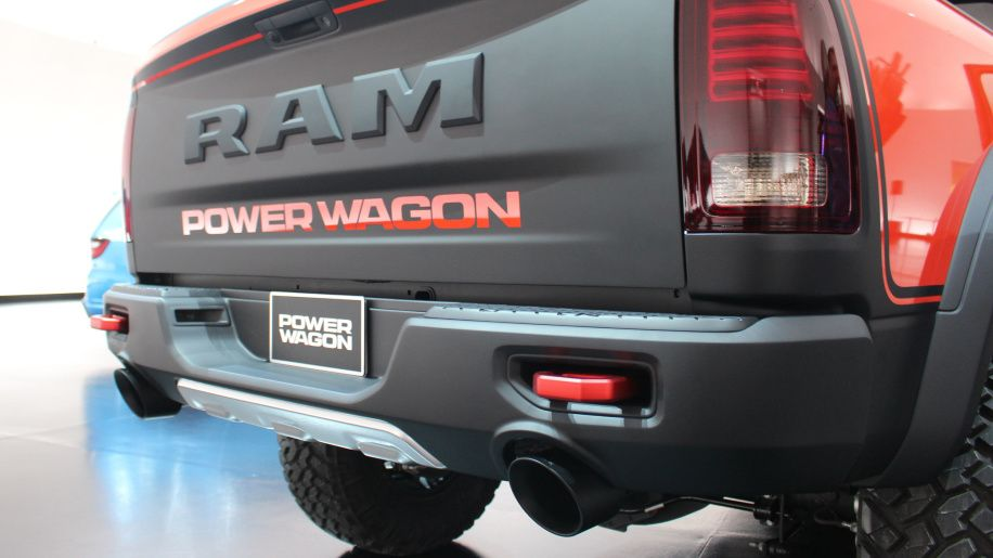 The Ram Macho Power Wagon concept is totally in your face