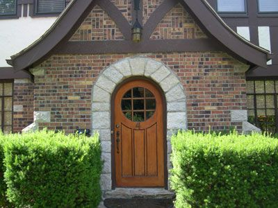 Rounded front door. | Tiny Home Inspiration | Pinterest ...