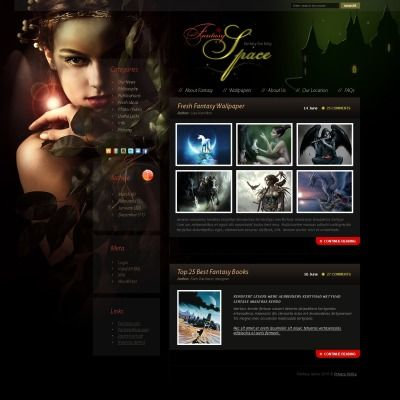 Artist Portfolio PSD Template Artist Portfolio Template And Artists - Digital portfolio template
