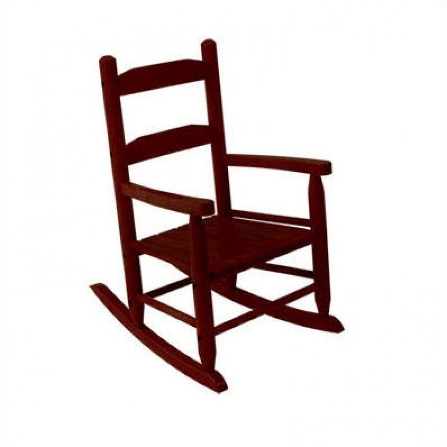 Kidkraft 2 slat rocking chair in cherry 18122