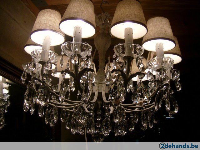 Moderne Lampen 9 : Luchter 10 lampen 75 cm br 65 cm h 275 euro betsaat ook met 9 en 8