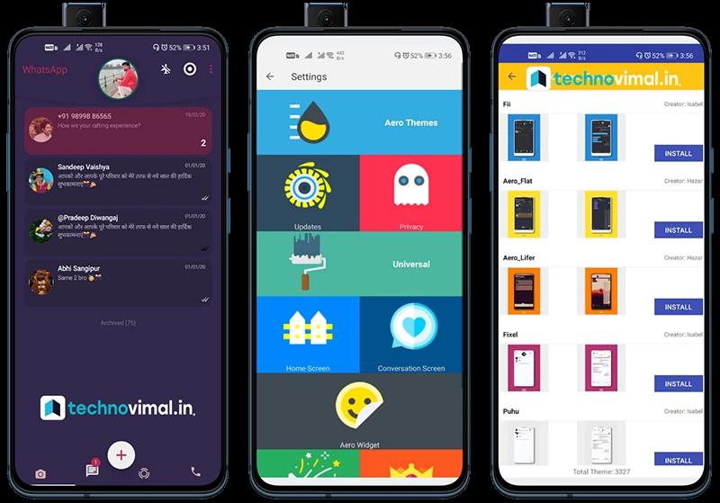 Aero Whatsapp Tema Aero Whatsapp Tema Aero Instant Messaging Download