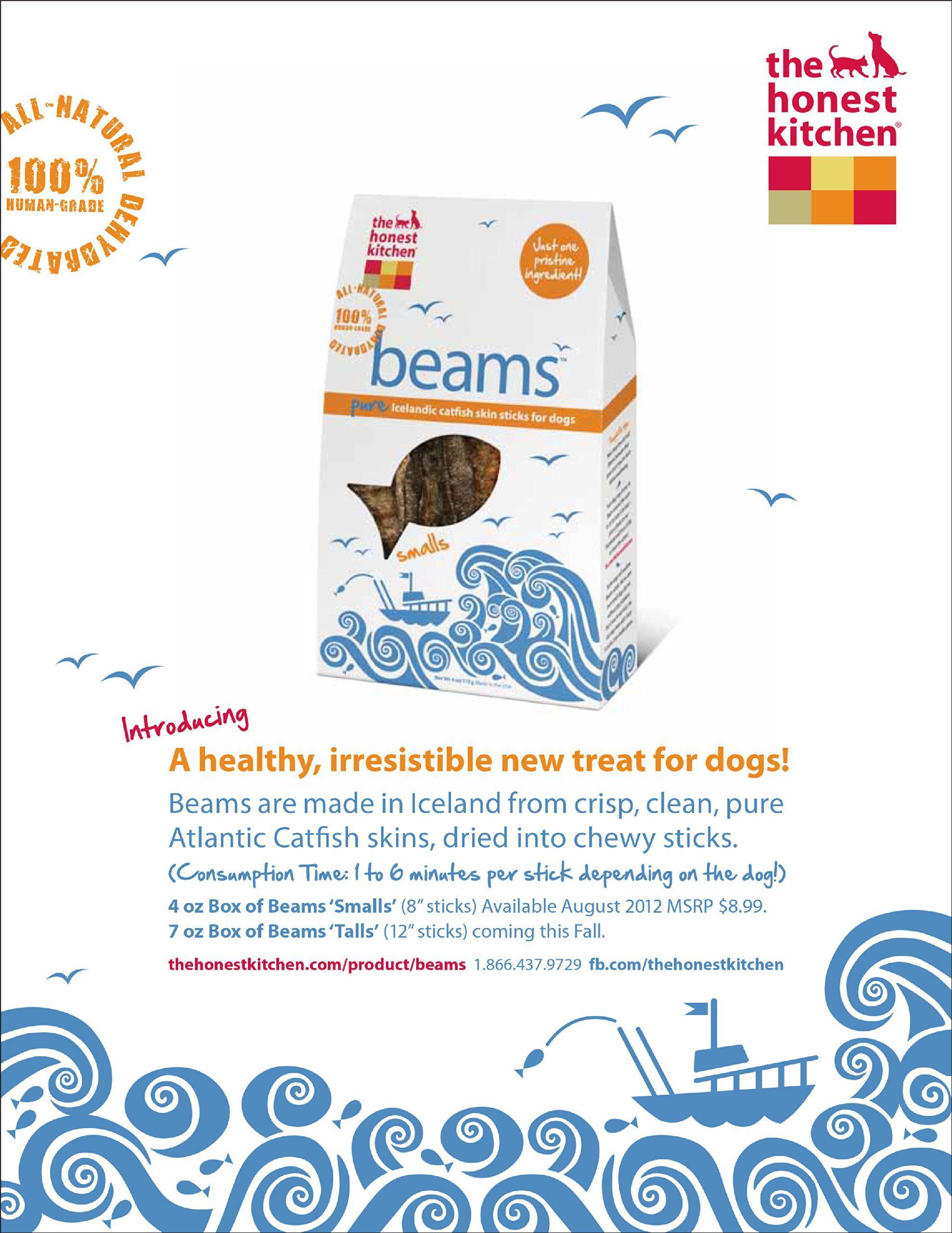 Honest Kitchen Dog Treat Beams – Wow Blog