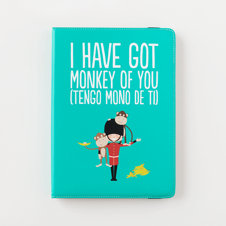 Funda Tablet 10'' y iPad - I have got monkey of you (hoy tengo mono de ti) De superbritánico por solo 29,90€
