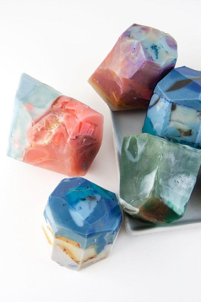 How To Make Diy Soap Rocks I Can Do That Pinterest Diy Diy