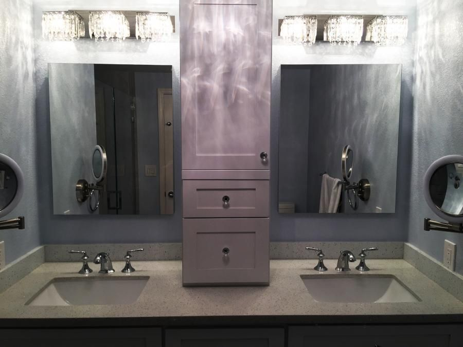 A Recent Bathroom Remodeling Projectpremier Construction Amazing Bathroom Remodeling Service Decorating Inspiration