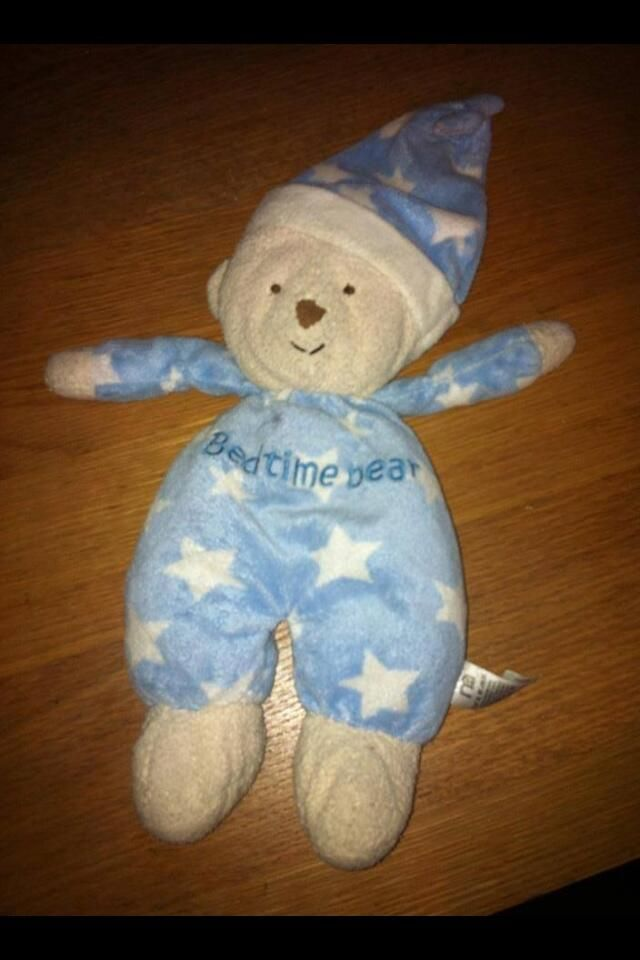 FOUND in BRAMLEY, LEEDS this bedtime bear in blue pajamas