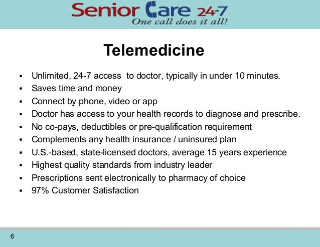 Telemedicine Healthcare Solutions For Caregivers And Care Centers