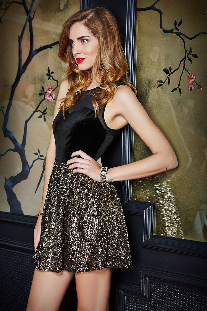 Ferragni chiara for guess holiday campaign