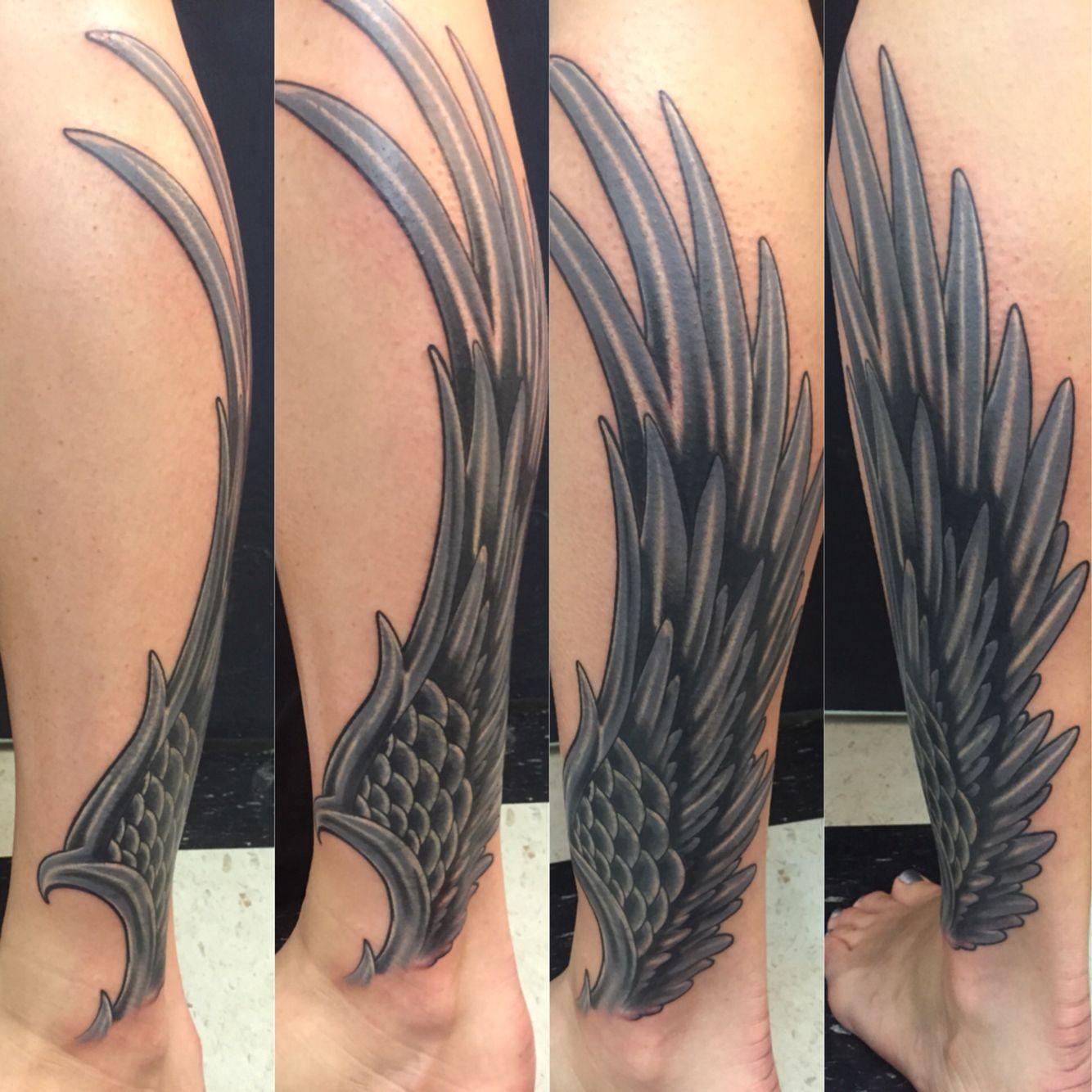 Wing Tattoo Ink Junkies Arvada Co Tribal Tattoos Tattoos Ink