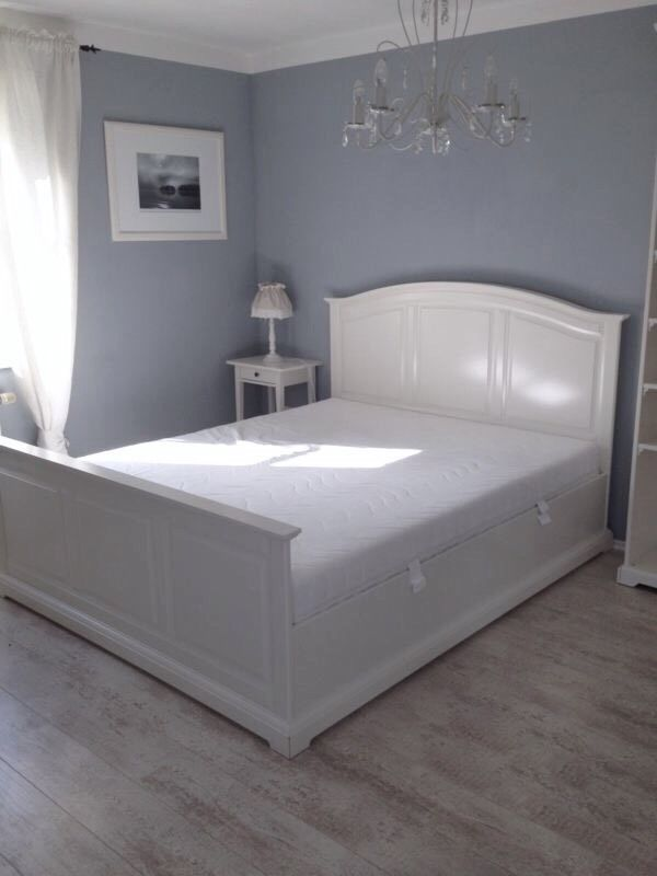Ikea Birkeland Bett 160X200 + Lattenrost + Matratze Sultan Hemnes