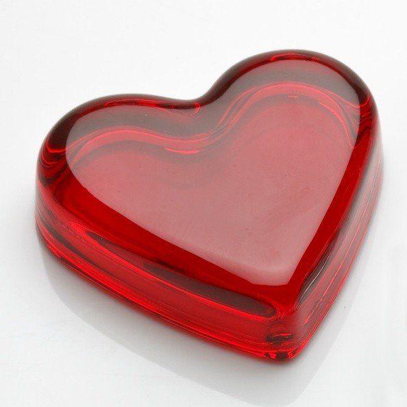 Elegant Crystal Heart Paperweight | 47 Romantic Birthday Gift ...