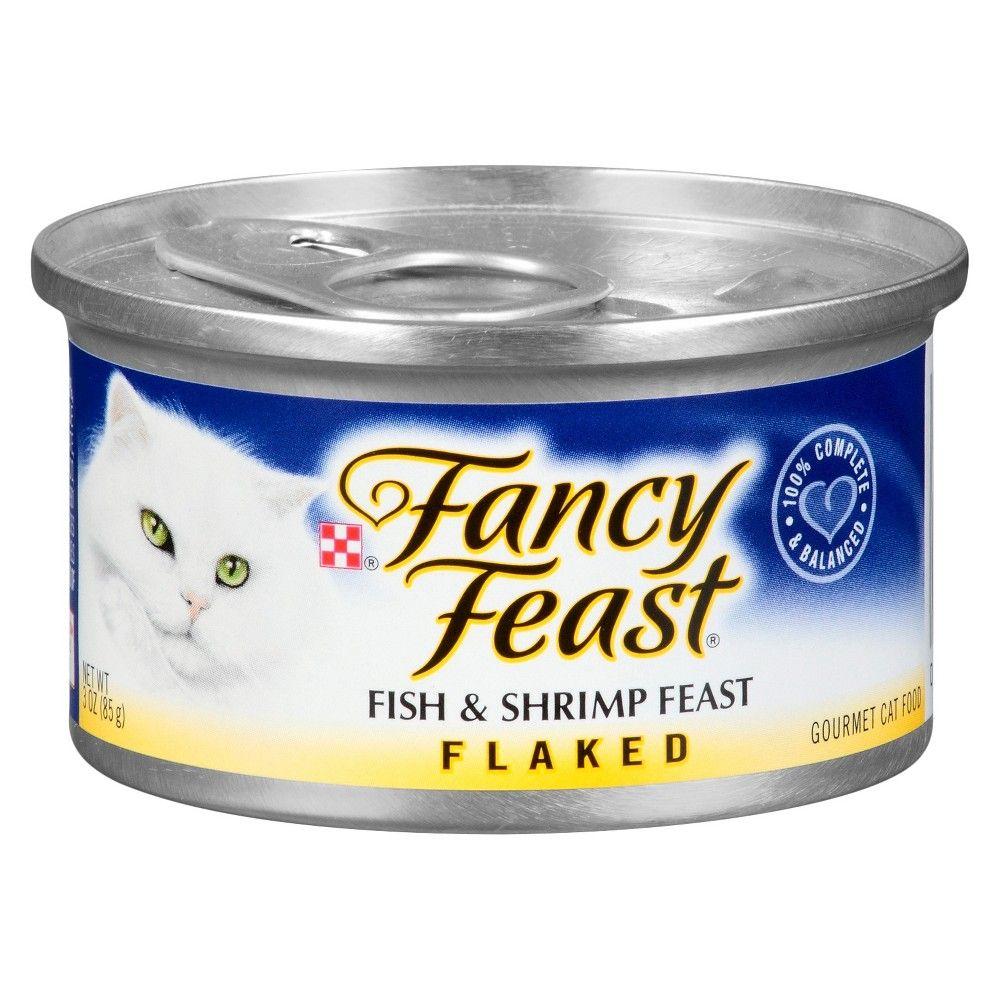 Purina Fancy Feast Flaked Fish & Shrimp Feast Wet Cat Food