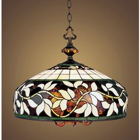 Westmore Lighting 6 Light English Ivy Bronze Tiffany Style
