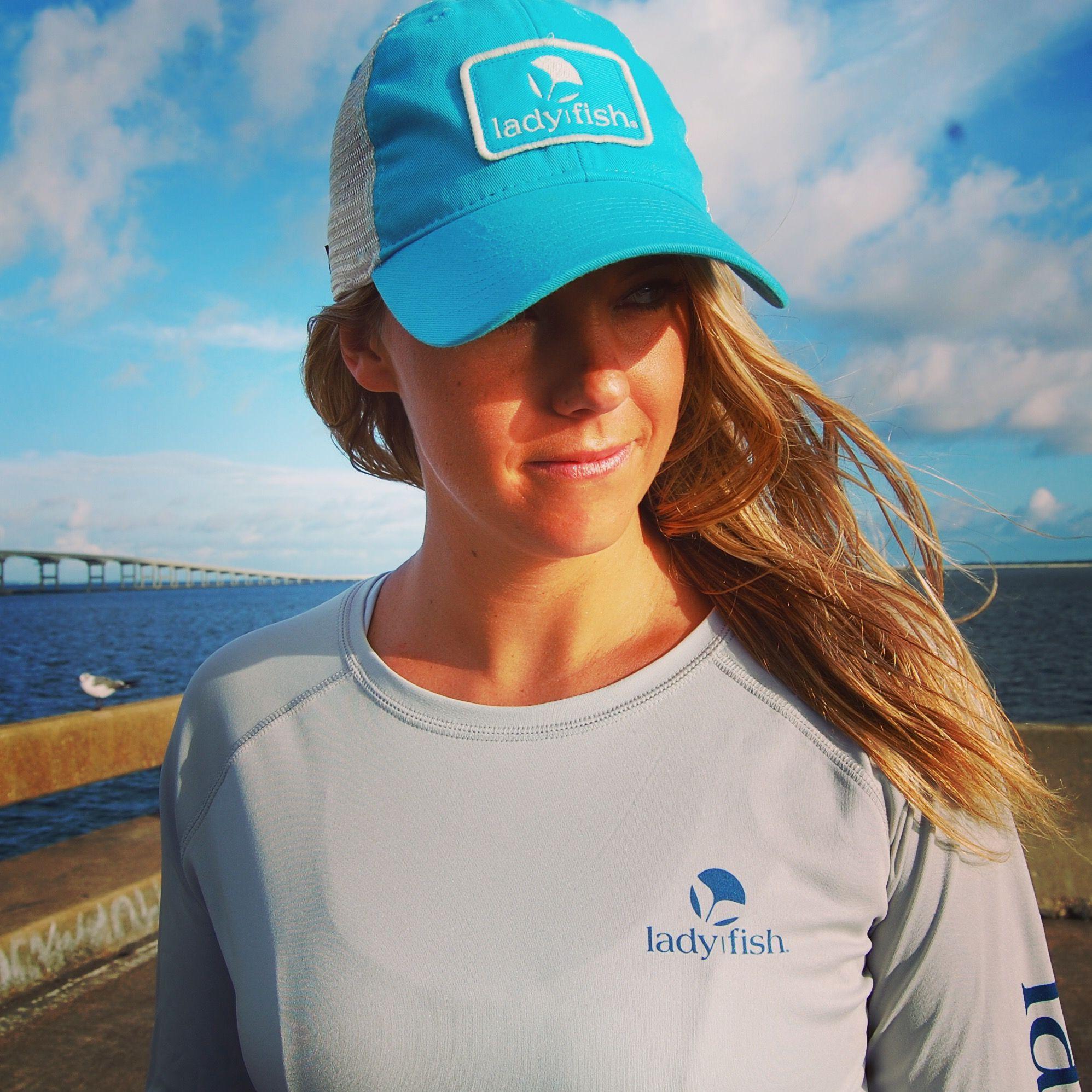 0911d42ab12 Women s fishing shirts! New ladyfish trucker hat! www.ladyfish.com ...