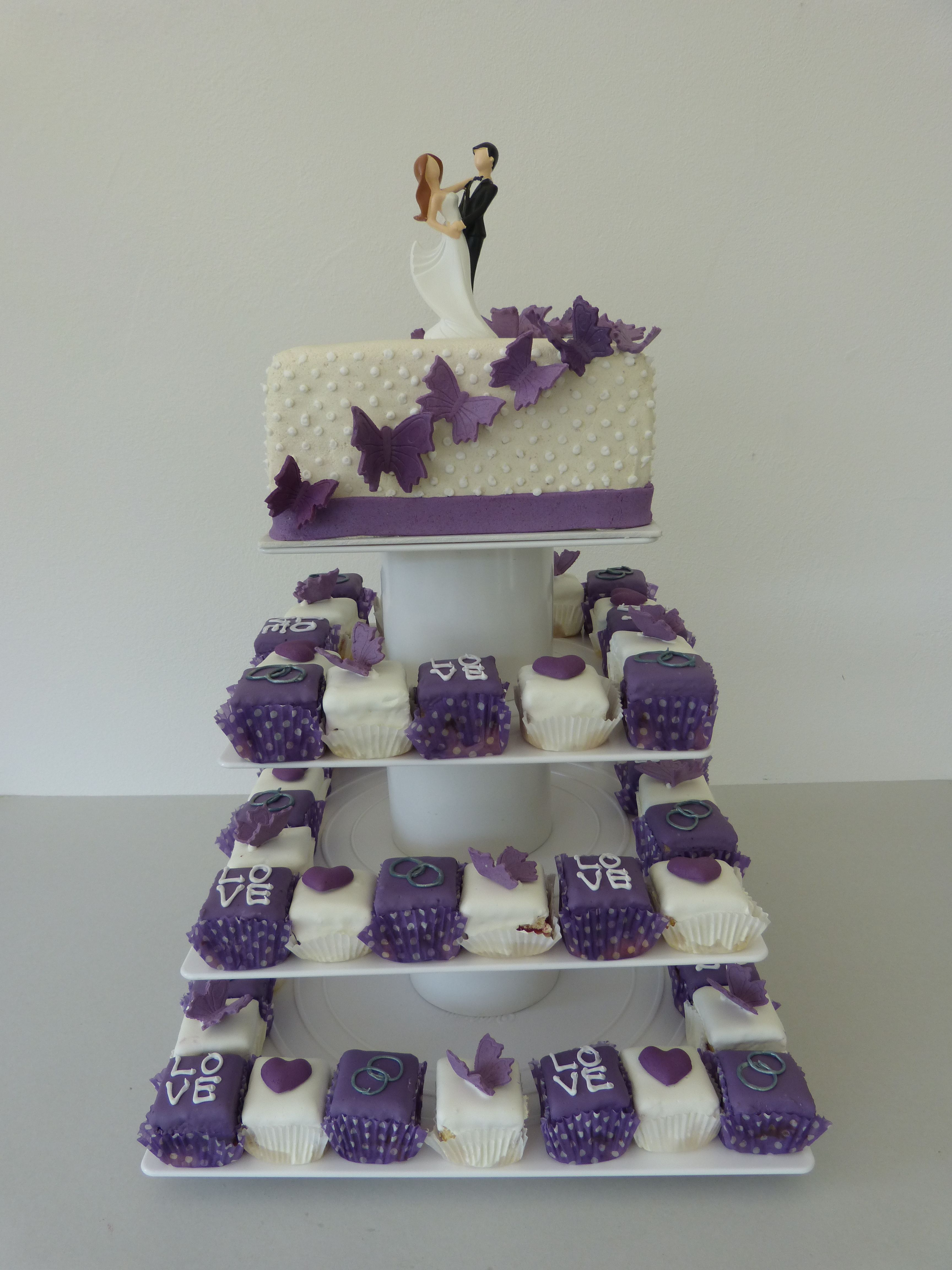 Wedding Cake Cake Cubes Cake Cube Konz Niedermennig Trier