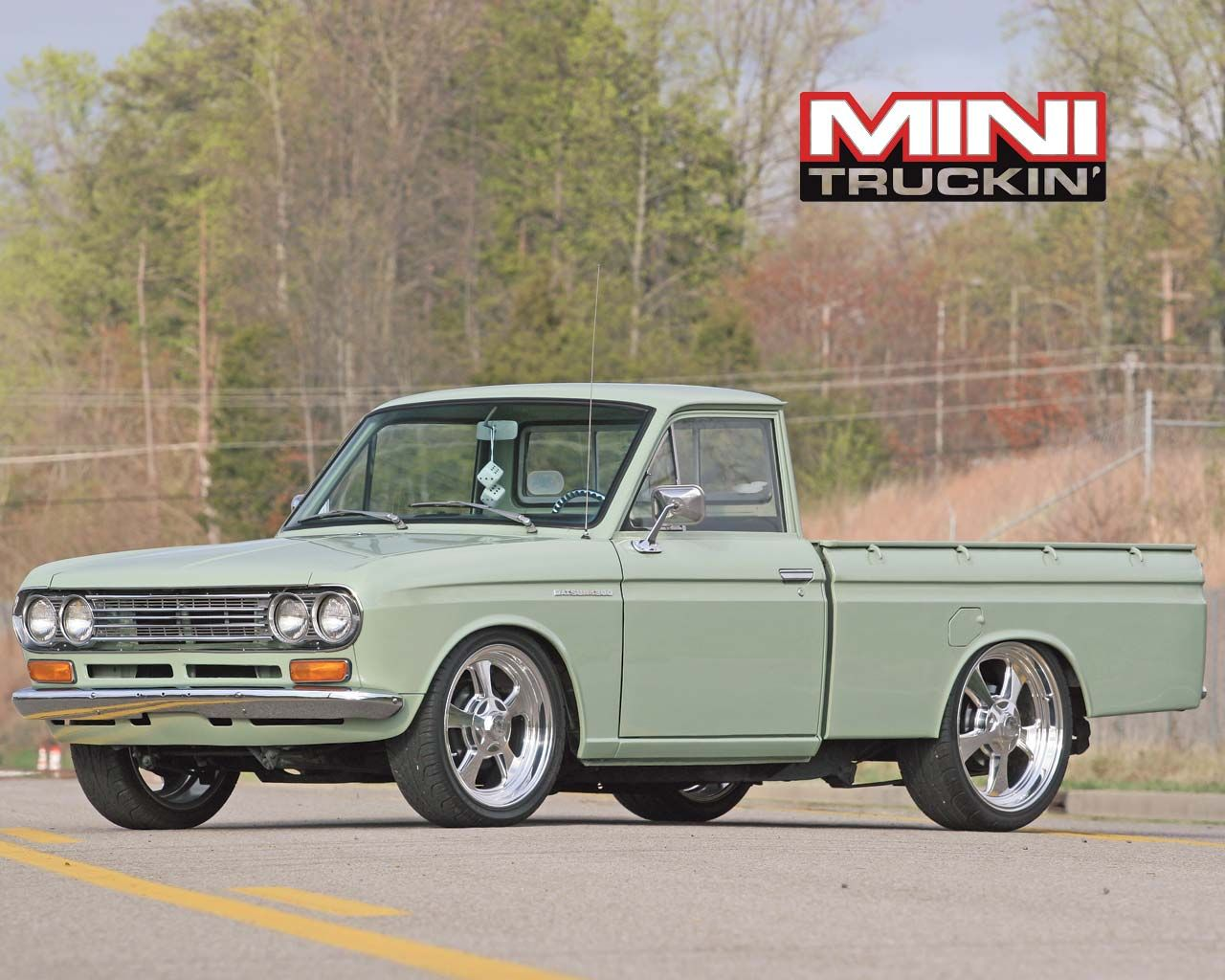 Nissan datsun 510 truck - Truck Mini Truckin Wallpapers Resolution Filesize Kb Added On August Tagged Truck