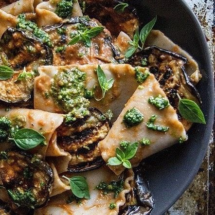 Recipe: Pasta with Grilled Eggplant Smoky Tomato Sauce and Basil Walnut Pesto - source : http://ift.tt/2u0c9wn #latestfoodtrend #foodtrend #foodreviews #catania #pasta #healthyfood #supertrendy #trendyfood #foodideas #hungry #tasty #yummy #yum #foodie #foody #foodism #foodisfuel #foodiswow #saraskitchen #foodwelove #pastalover #pizzalovers #dinnerout #pastaislife #welovepasta #nicedinner #lunch #dinner #lovelytime