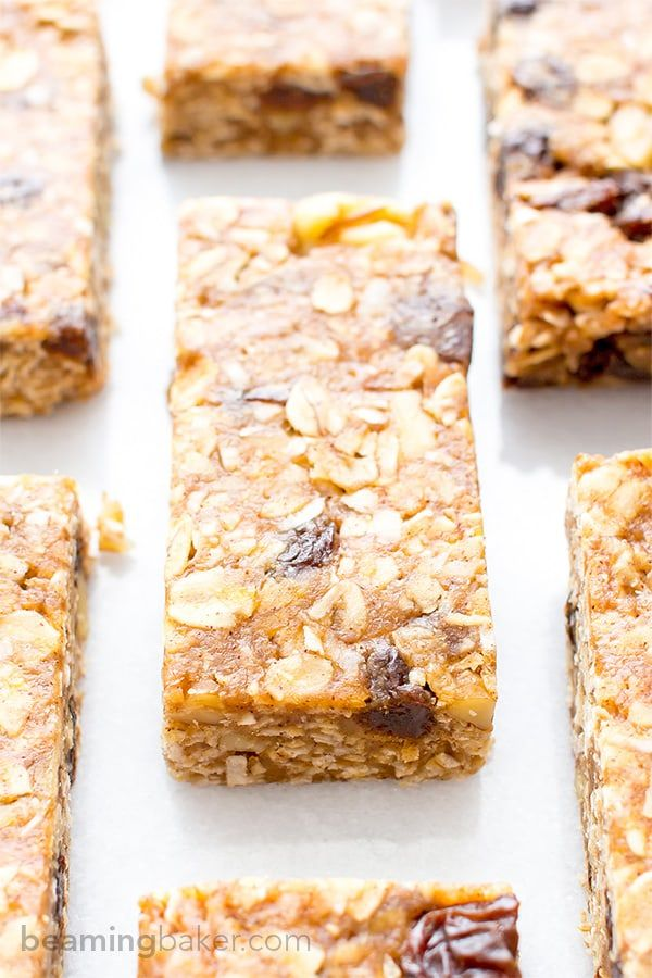 22 Healthy Homemade Granola Bars You Need To Survive Your Day