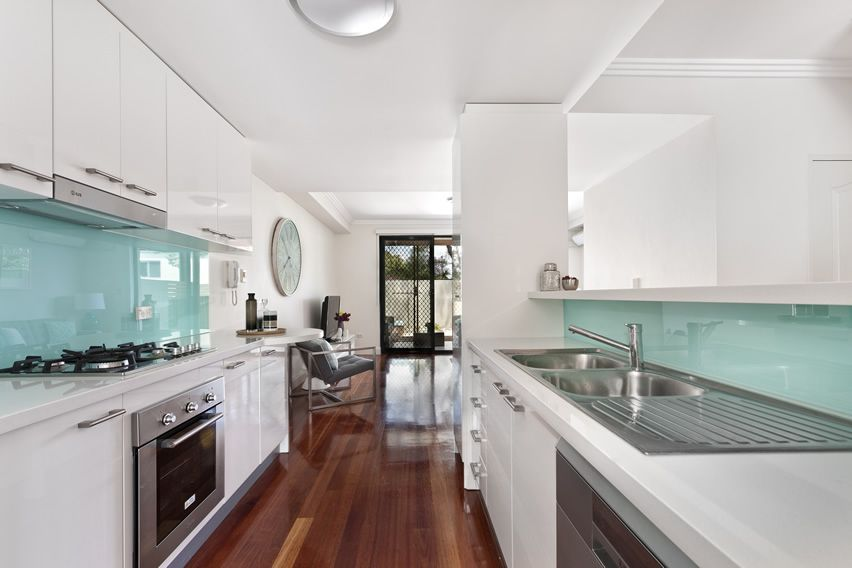 35 Beautiful White Kitchen Designs (With Pictures). Galley Style ...